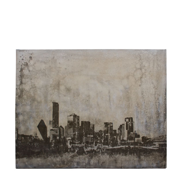 "50""w x 40""h Cityscape Art ART012752"