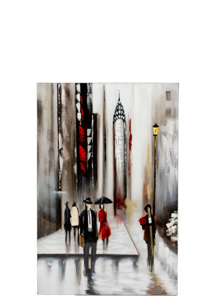 "23.5""w x 35.5""h Cityscape Art ART012757"
