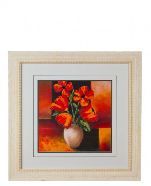 "31""w x 31""h Floral Art ART012785"