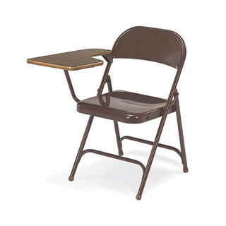 Brown Virco Tablet Arm Chair CHR003911