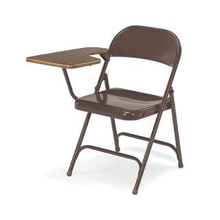 Brown Virco Tablet Arm Chair CHR003911