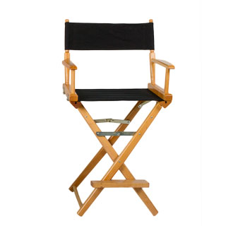 Natural Wood Director's Chair CHR005618