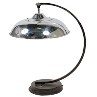 "25""h Chrome Table Lamp LGT001639"