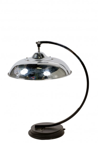 "25""h Chrome Table Lamp LGT001639"