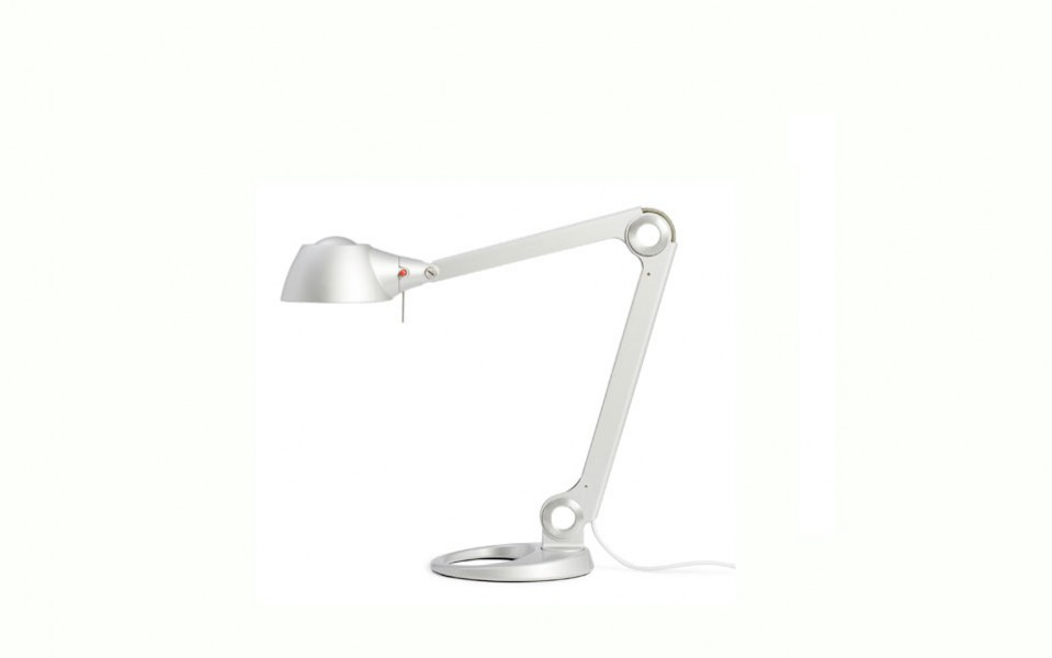 "18""h- 23""h Silver Task Lamp LGT010977"
