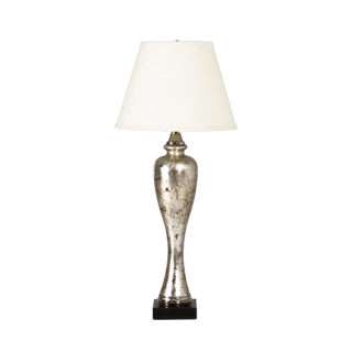 "31""h Polished Nickel Table Lamp LGT012764"