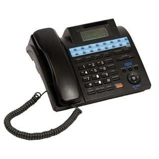 "10""w x 9""d Black Telephone MIS011720"