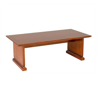 "48""w x 20""d Medium Cherry Veneer Coffee Table TBL010035"