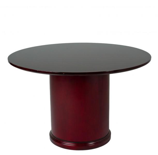 "48""dia Mahogany Round Conference Table TBR011947"