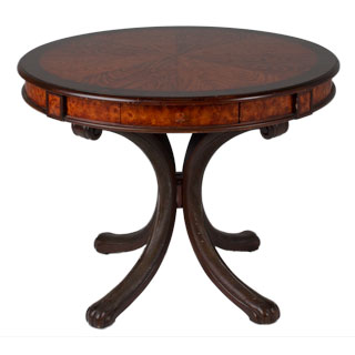 "38""dia Medium Cherry Round Poker Table TBR009242"