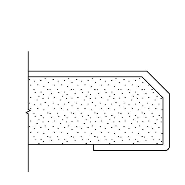 Prefabricated Fabric Panel Edge Options