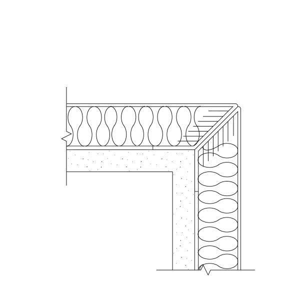Prefabricated Fabric Panel Mitered Corner Detail