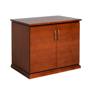 "36""w x 24""d Medium Cherry Storage Cabinet CAB010732"