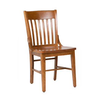 Medium Oak Side Chair CHR000606