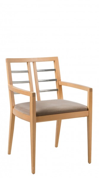 Grey Mohair Guest Chair CHR000866
