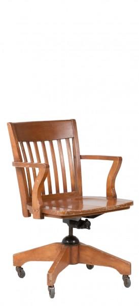 Medium Oak Mid-Back Office Chair CHR005668