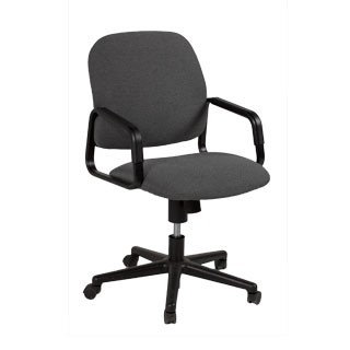 Grey Fabric Mid-Back Office Task Chair CHR007354