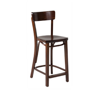 Walnut Café Bar Stool CHR012187