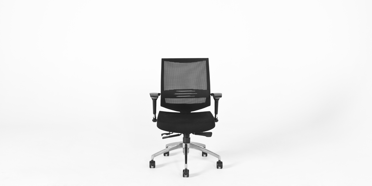 Black Mesh Swivel Task Chair CHR012462