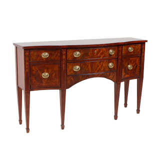 "66.5""w x 20""d Traditional Mahogany Console Table CRD007921"
