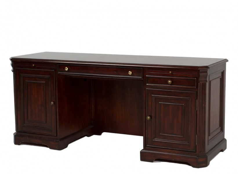 "73""w x 24""d Traditional Walnut Credenza CRD011816"