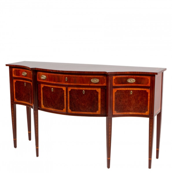 "68""w x 24""d Mahogany Console Table CRD012600"