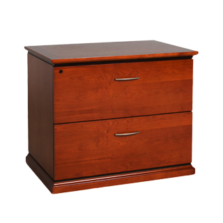 "36""w x 24""d Medium Cherry Storage Cabinet FIL010032"