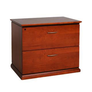 """36""""w x 24""""d Medium Cherry Storage Cabinet FIL010032"""