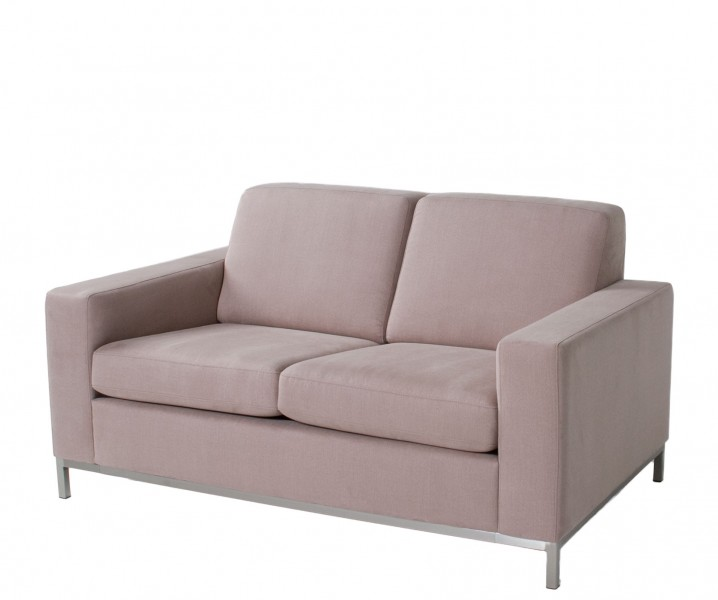 "57""w x 35""d Lavender Grey Fabric Loveseat LVS012825"