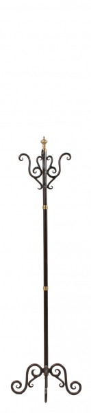 "74""h Bronze Coat Tree MIS009875"