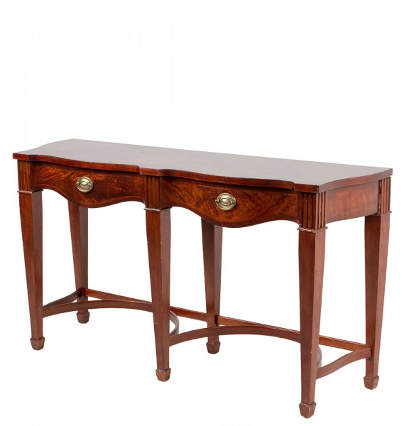 "62""w x 18""d Medium Cherry Console Table TBL007545"