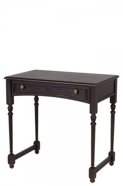 "30""w x 19""d Dark Mahogany Side Table TBL008257"