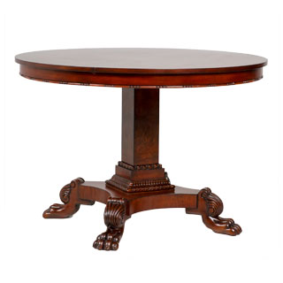 "44""dia Cherry Round Dining Table TBL012841"