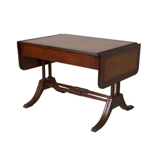 "38.5""w x 28""d Traditional Walnut Writing Desk TRD000752"