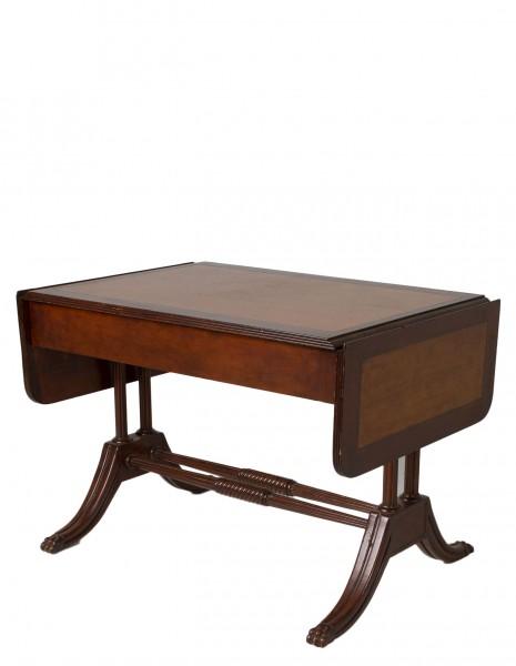 "38.5""w x 28""d Traditional Walnut Writing Desk TRD000752"