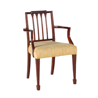 Mahogany Arm Chair CHR000948