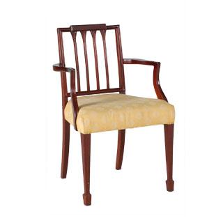 Mahogany Arm Chair CHR000948