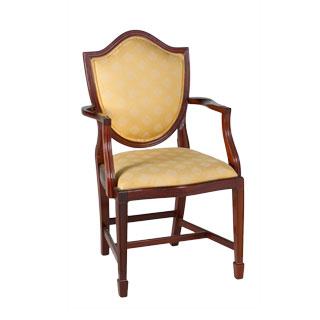 Mahogany Arm Chair CHR000949