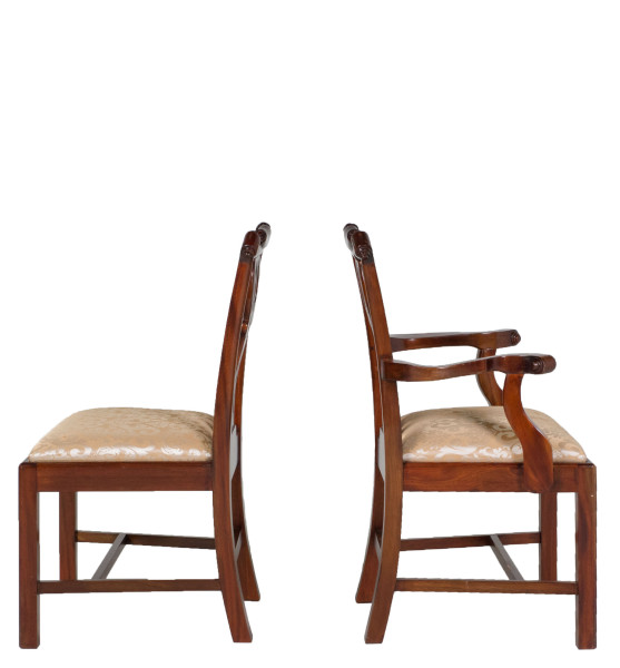 Cherry Chippendale Side Chair CHR009307