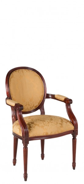 Mahogany Round Back Guest Chair CHR009316
