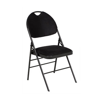 Black Folding Chair CHR012632