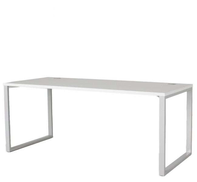 72w X 30d Light Grey Laminate Modern Table Desk Dsk012896