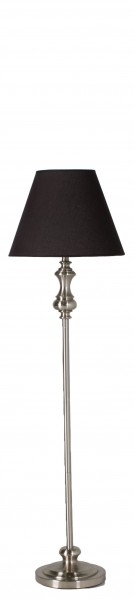 "56.5""h Brushed Steel Floor Lamp LGT010904"