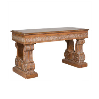 "60""w x 23.5""d Traditional Ornate Console Table TBL001218"