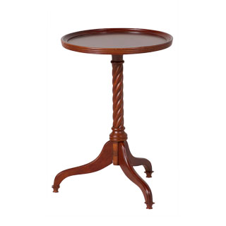 "15""dia Mahogany Round Side Table TBL006050"