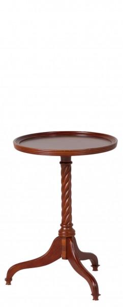 """15""""dia Mahogany Round Side Table TBL006050"""