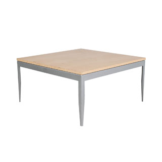 "30""w x 30""d Modern Square Coffee Table TBL010845"