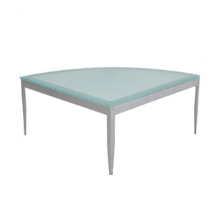 "30""w x 30""d Frosted Glass Coffee Table TBL011258"