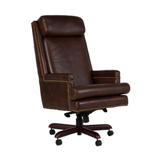 Brown Leather Executive Hi-Back Chair CHR007953