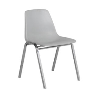 Light Grey Stack Chair CHR010443